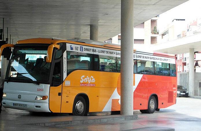 "Автобус ""аэропорт Барселона - Ллорет-де-Мар"" - фото"