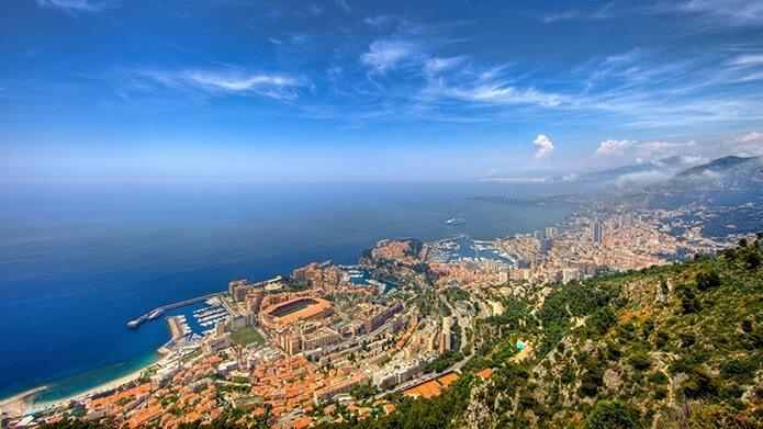 Побережье Монако - фото