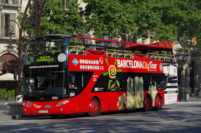 Автобус Барселона Сити Тур - фото