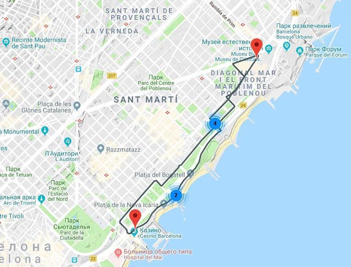 Зеленый маршрут Бас Туристик