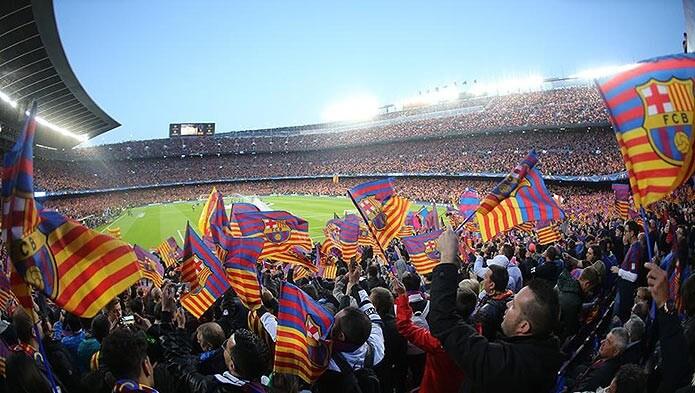 Болельщики ФК Барселона - фото
