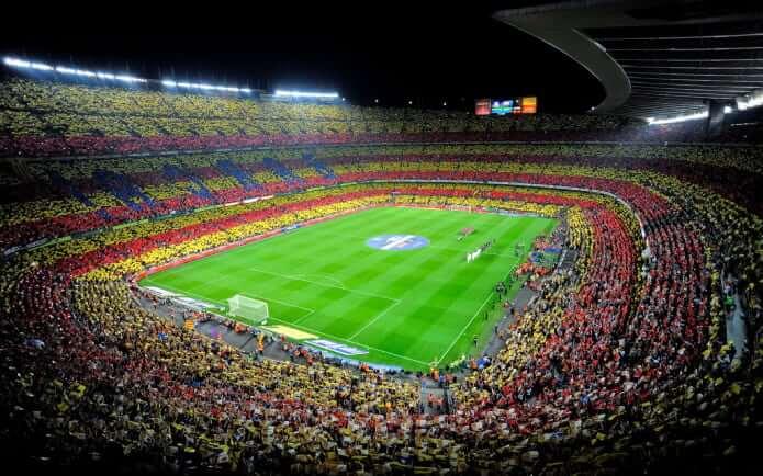 Стадион Камп Ноу - фото