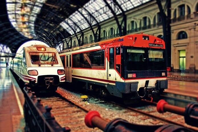 общественный транспорт - фото