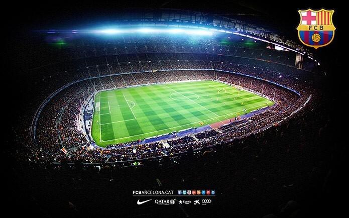 Домашний стадион Барселоны - фото