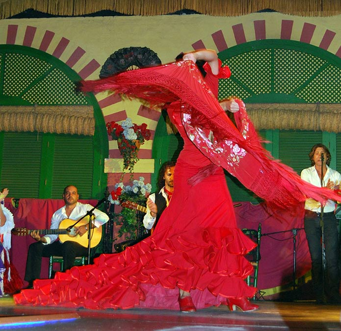 Танец фламенко - фото