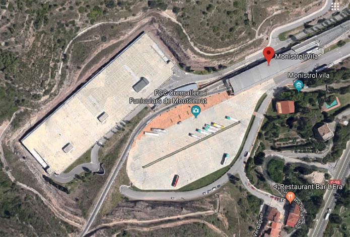 Парковка на Monistrol-Vila - фото