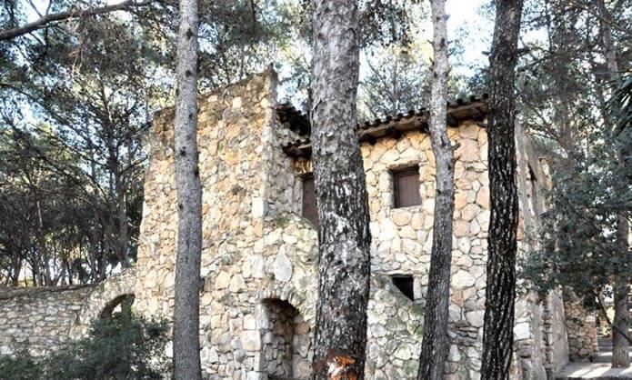 Каталонская усадьба - фото