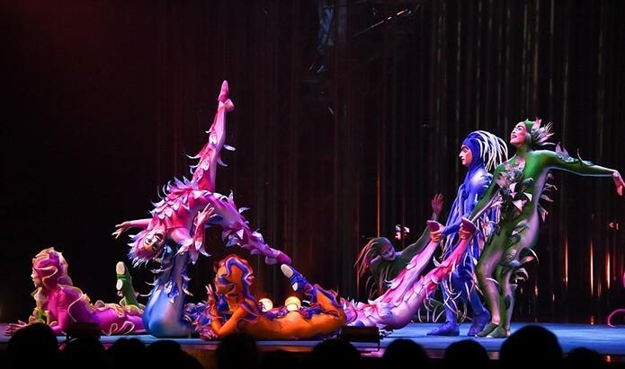 Представление Цирка Дю Солей - фото