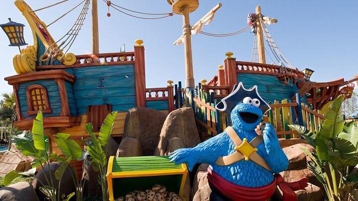 Детская зона аквапарка Порт Авентура - фото