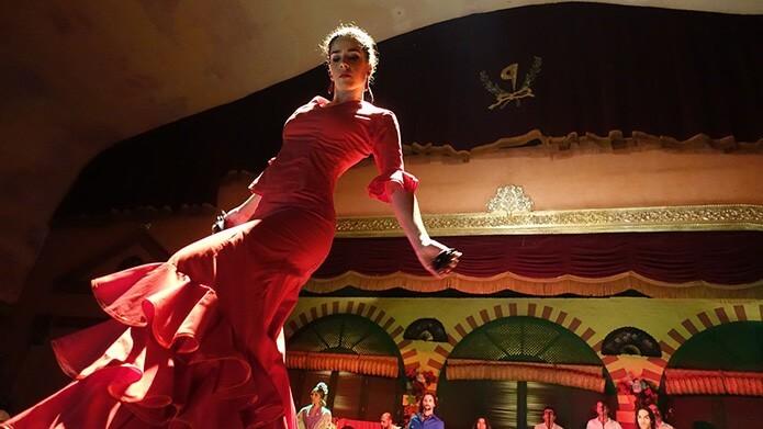 Танцовщица фламенко в Мадриде - фото