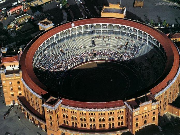 Арена Лас Вентас сверху - фото