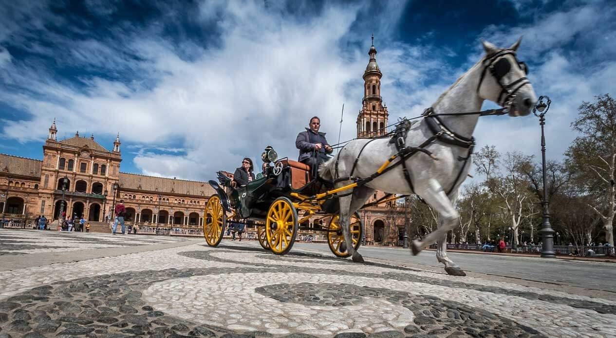 Площадь Испании в Севилье: фото, история, как можно добраться до площади