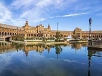 Площадь в центре Севильи - фото