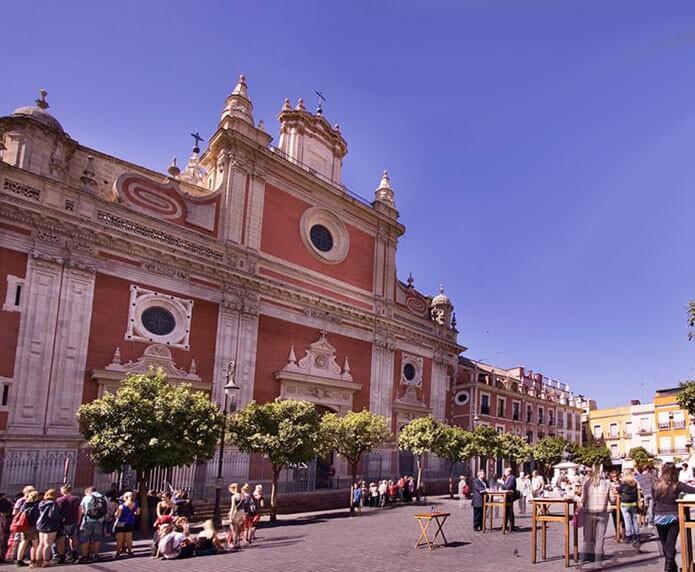 Plaza Salvador в Севилье