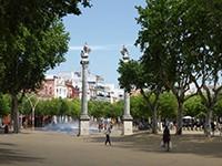 Сады Аламеда-де-Геркулес