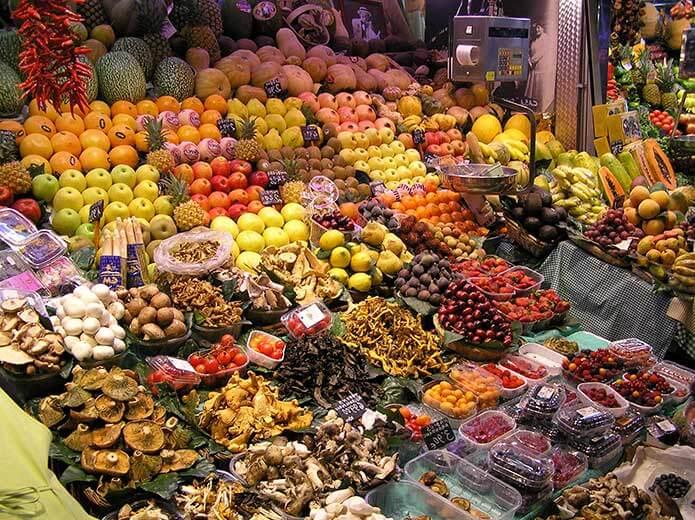 Продуктовый рынок Триана - фото