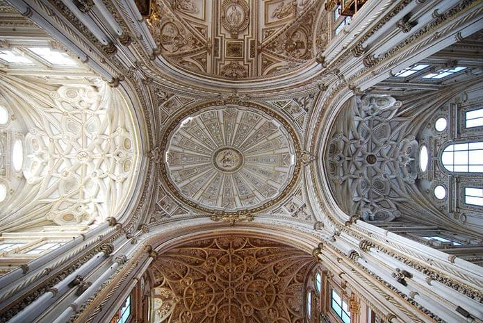 Свод собора - фото