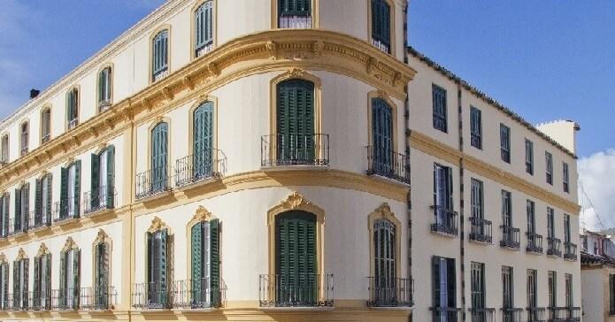Здание дома-музея Пикассо в Малаге -фото