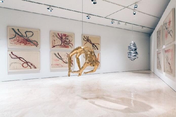 Экспонат музея Пикассо в Малаге