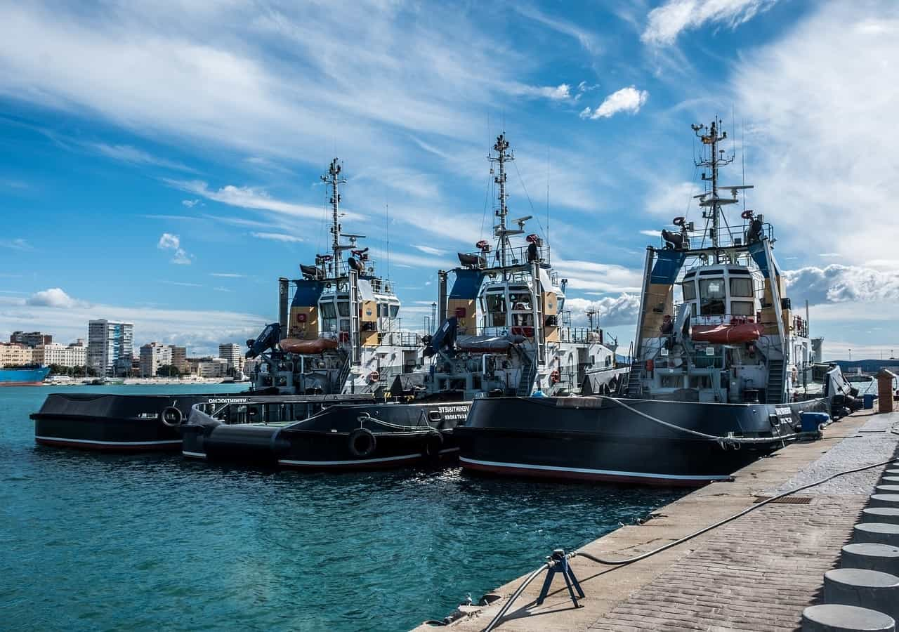 Порт Малаги - фото