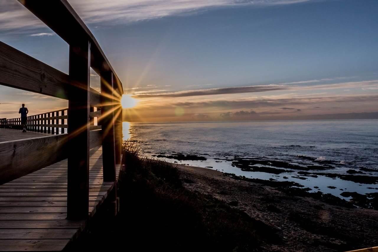 Рассвет в Малаге - фото