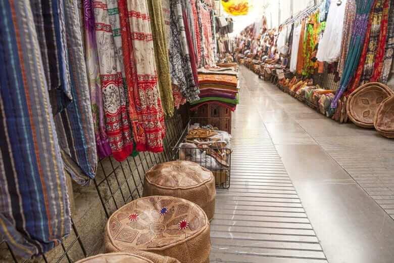 Торговые улицы Гранады - фото
