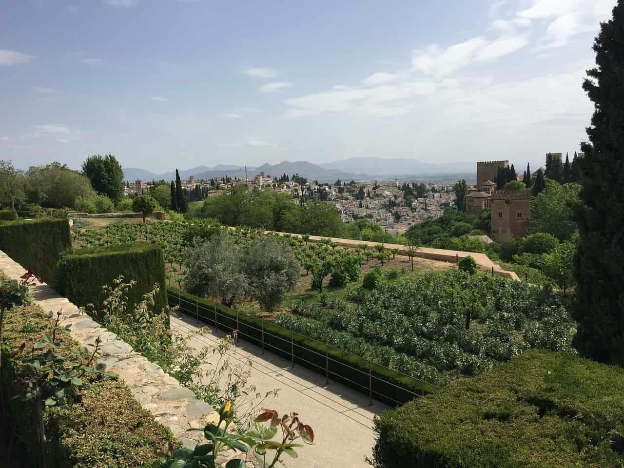 Сады Альгамбры - фото