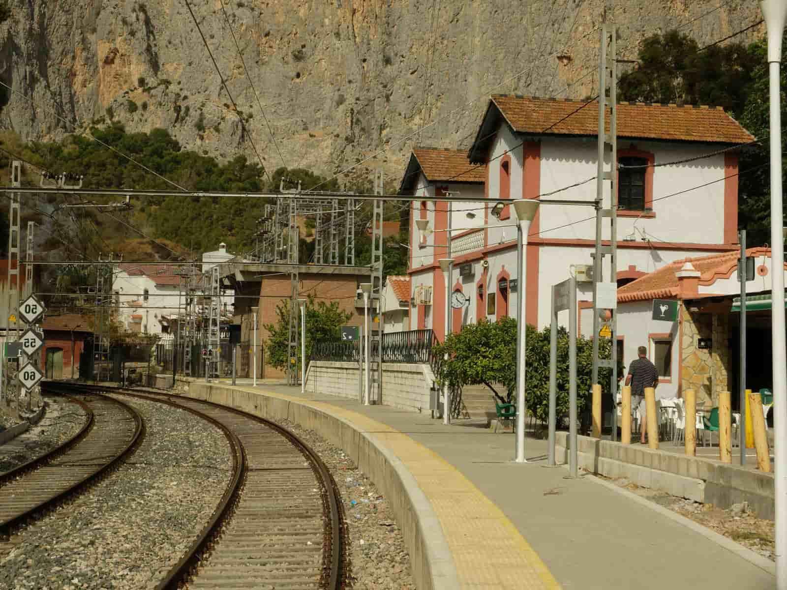 Станция «ElChorro-CaminitodelRey» - фото