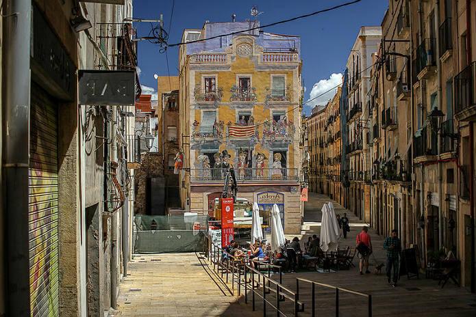 Исторический центр Таррагоны - фото