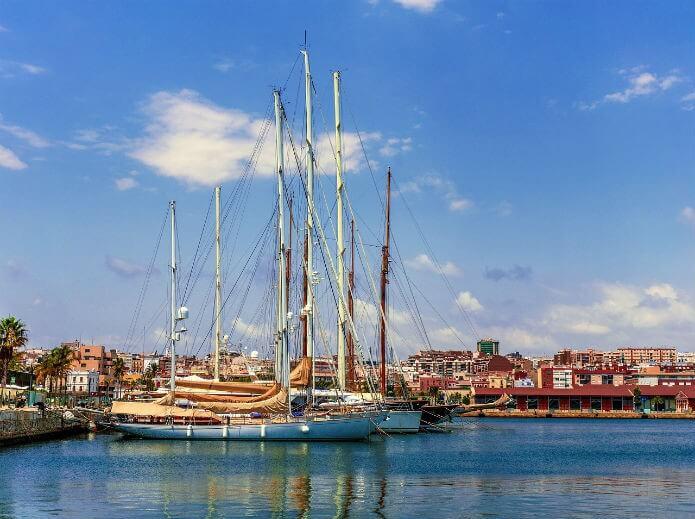 Порт Таррагоны - фото