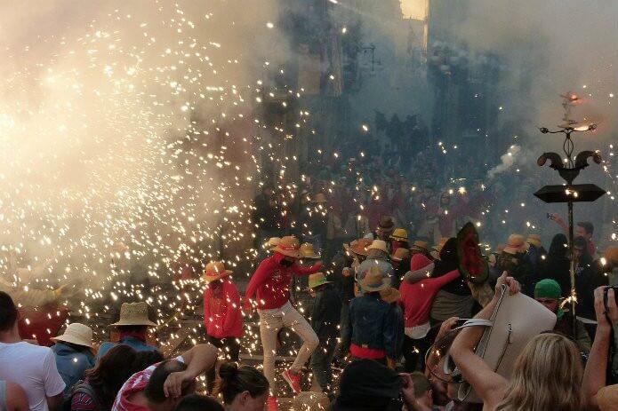 Праздник в Таррагоне - фото