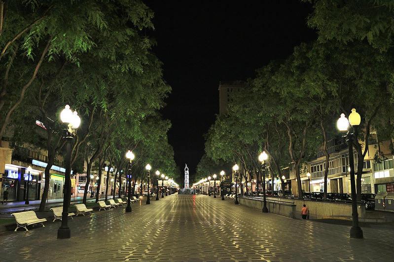 Вечерняя Таррагона - фото