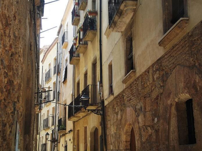 Еврейский квартал Таррагоны - фото