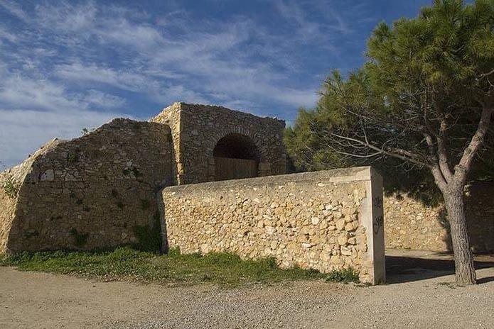Форт Королевы в Таррагоне - фото