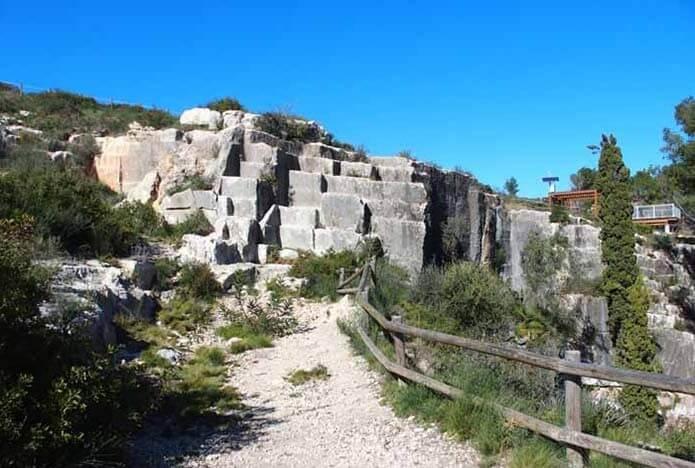 Каменоломня Эль-Медол - фото
