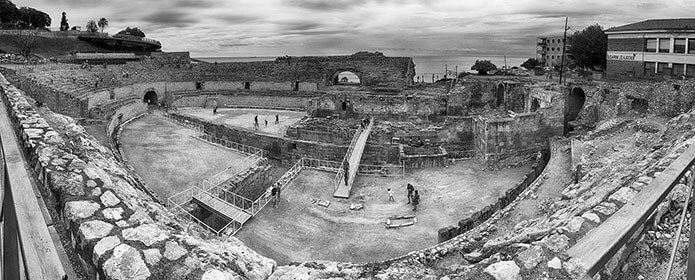 Римский Амфитеатр в Таррагоне - фото